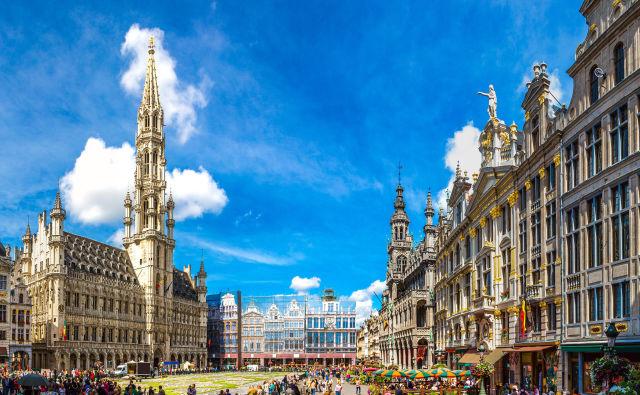 Platz in Brüssel