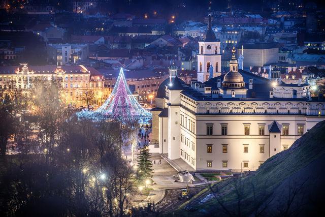 Vilnius Litauen Aussicht
