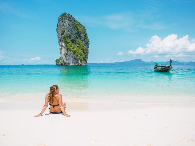 Asia, Beach, Boat