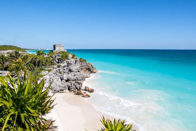 Playa del Carmen à Cancun, Mexique
