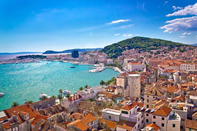 Aerial View, Croatia, Europe