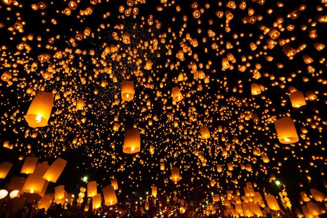 Asia, Chiang Mai, Crowd