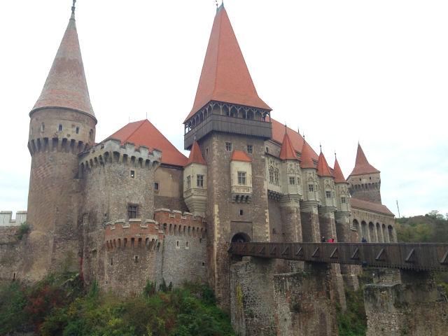 Ein typisches Schloss in Rumänien