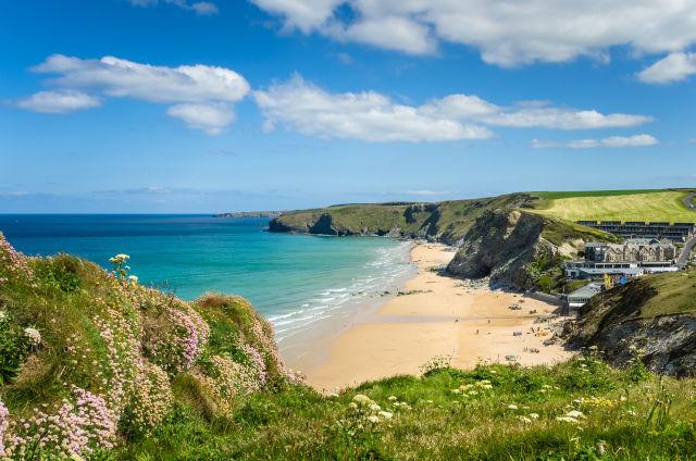 Cornwall Strand Meer England