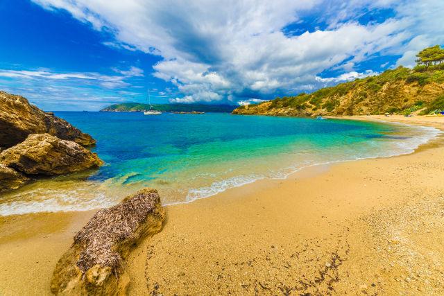Azure, Bay, Beach