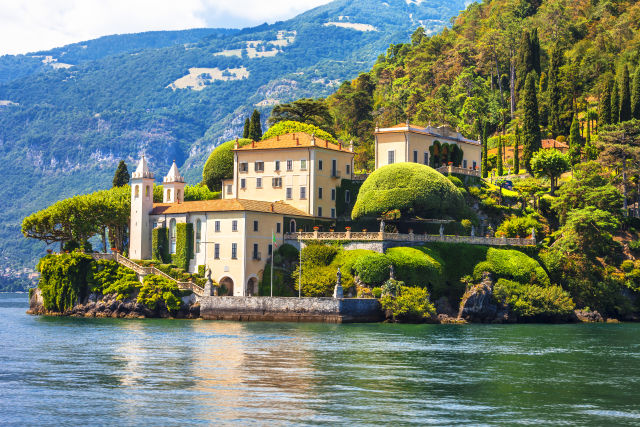 Lenno am Comer See in Italien
