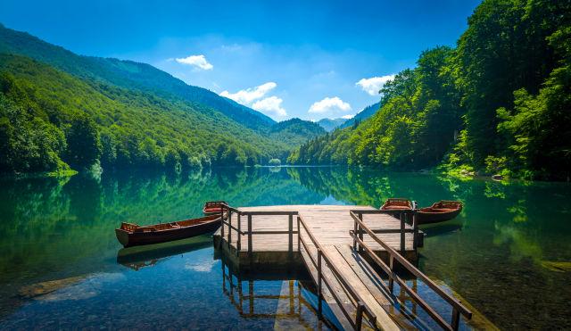 Biogradsko Lake, Montenegro summer
