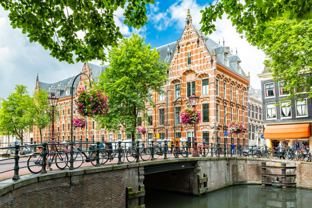 Amsterdam, Architecture, Bicycle