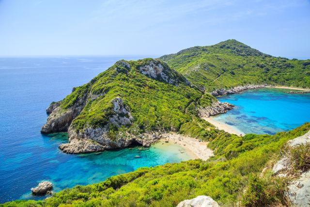 Coast, Corfu, Europe