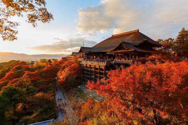 Kiyomizu-dera Tempel kyoto japan