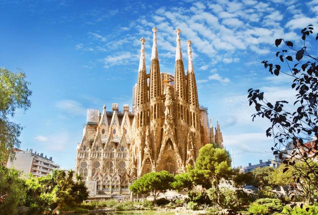 Architecture, Barcelona, Building