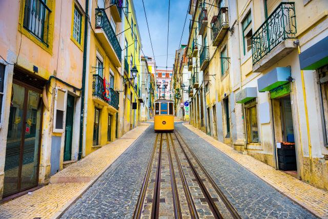 Europe, Lisbon, Path