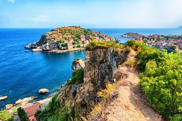 Schwarzmeerküste in der Türkei