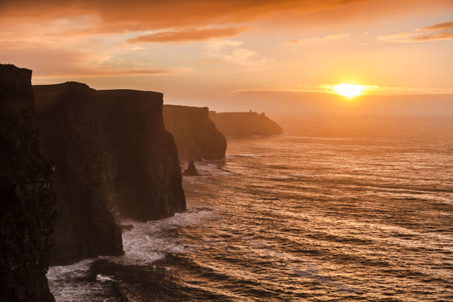 Amber, Body of water, Clare Ireland