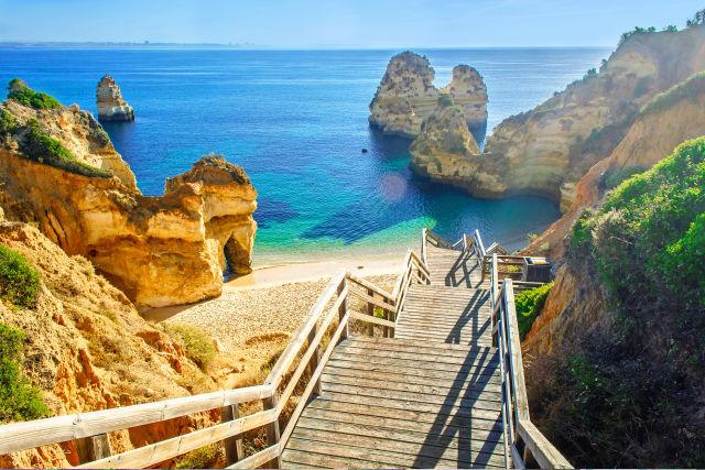 Algarve, Azure, Bay