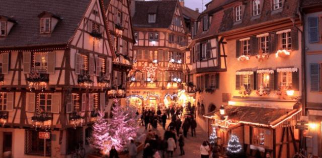 Christmas, Colmar, France