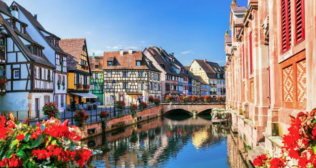 Alsace, Arch bridge, Architecture