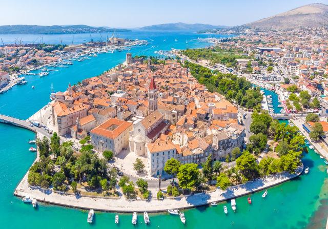 Aerial View, Architecture, Azure