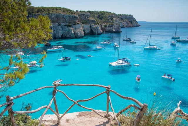 Azure, Balearic Islands, Bay