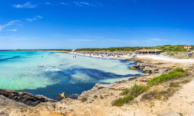 Platja Es Trenc Strand Mallorca Spanien