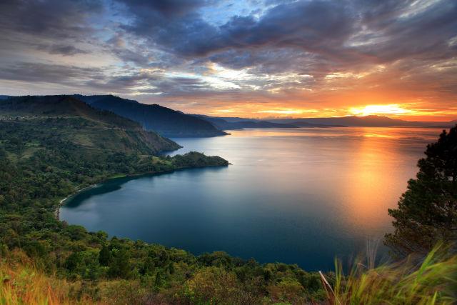 Indonesia, sumatra, sunset