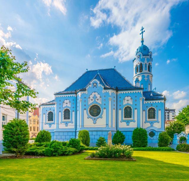 Die Blaue Kirche in Bratislava