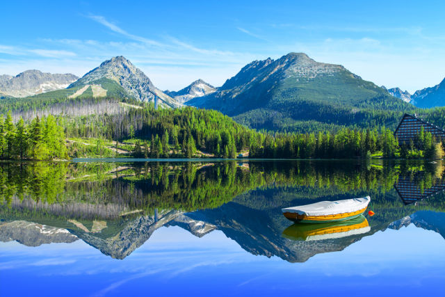 Nationalpark der Hohen Tatra in der Slowakei