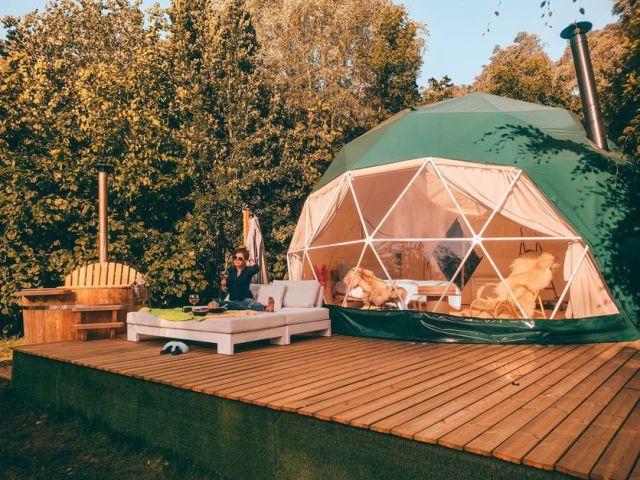 Belgium, airbnb, Glamping
