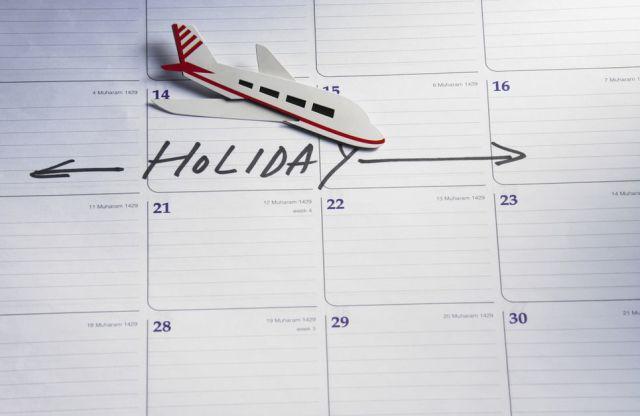 Calendar, Holiday
