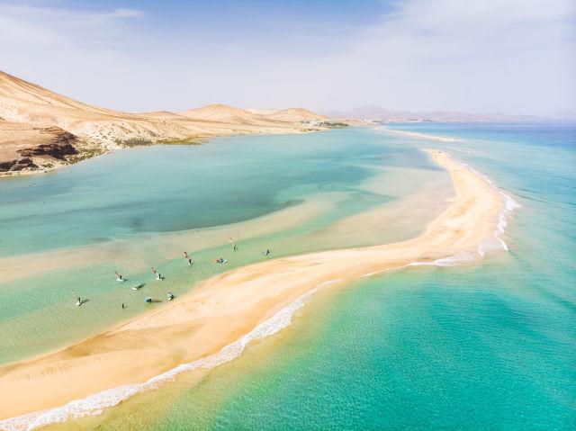 Aerial View, Azure, Beach