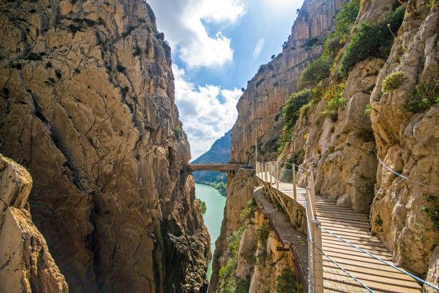 Bedrock, Canyon, Cliff