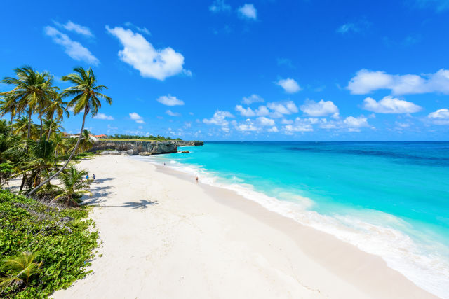 Azure, Barbados, Beach