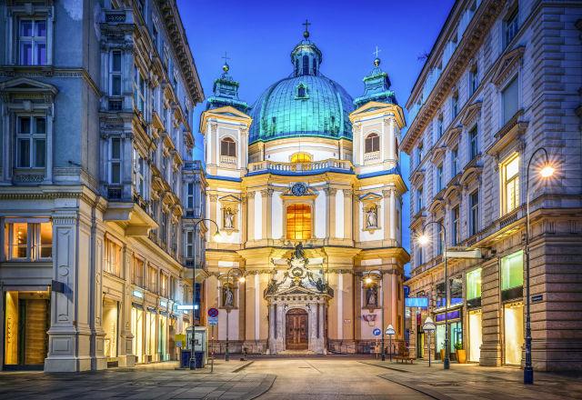 Architecture, Austria, Blue