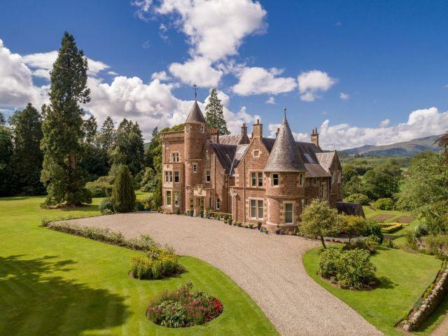 Scottish Contemporary Baronial Castle