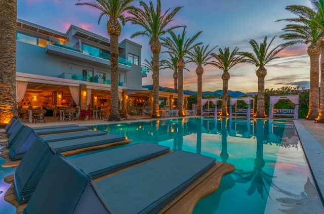 booking.com, Drossia Palms Hotel and Nisos Beach Suites