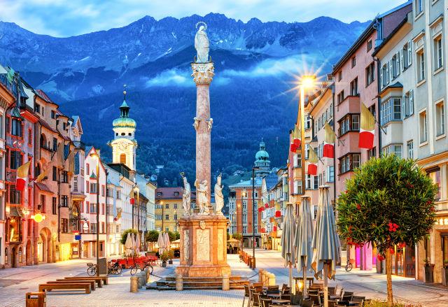 Architecture, Austria, Azure