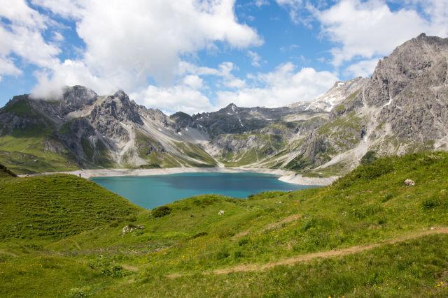Austria, Lünersee, Vorarlberg