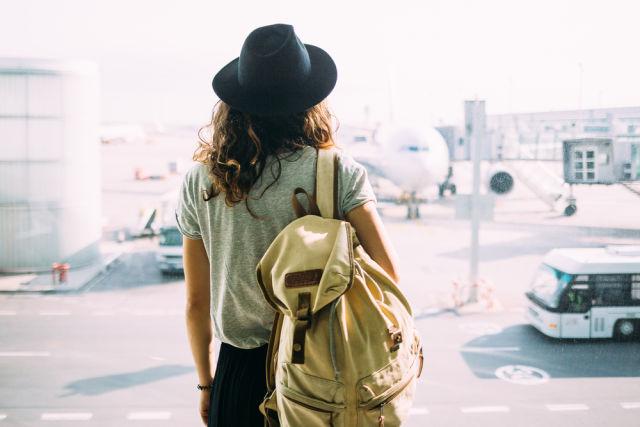 Airport, Airport Terminal, Backpack