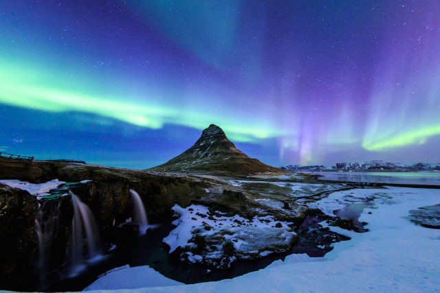 iceland, Northern lights