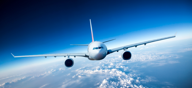 Airplane, flight, Plane