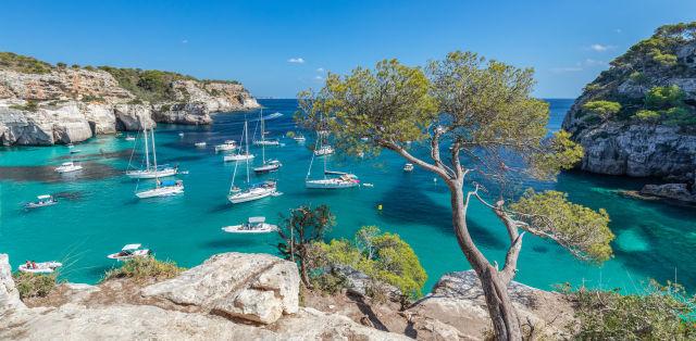 baleares, Menorca, Cala Macarella