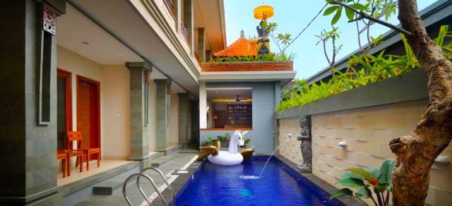Bali, Indonesien, Singgah Hotel Seminyak