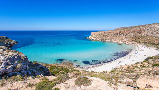 isola dei conigli, Lampedusa, rabbit island