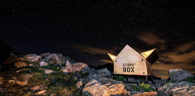 StarsBOX nel Parco Naturale delle Alpi Marittime, airbnb