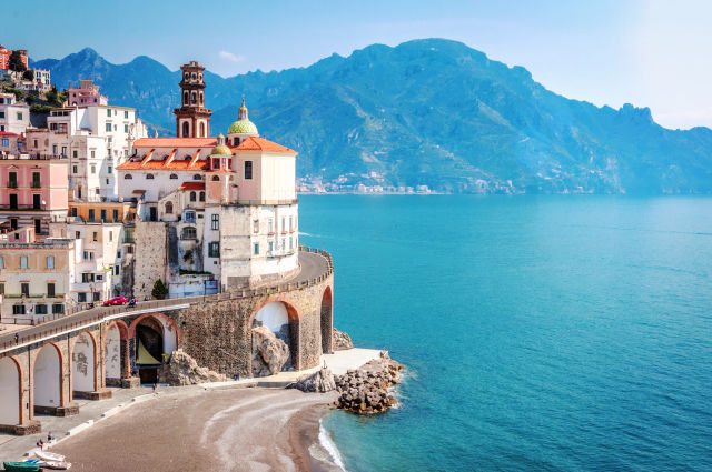 Amalfi Coast, Architecture, Atrani