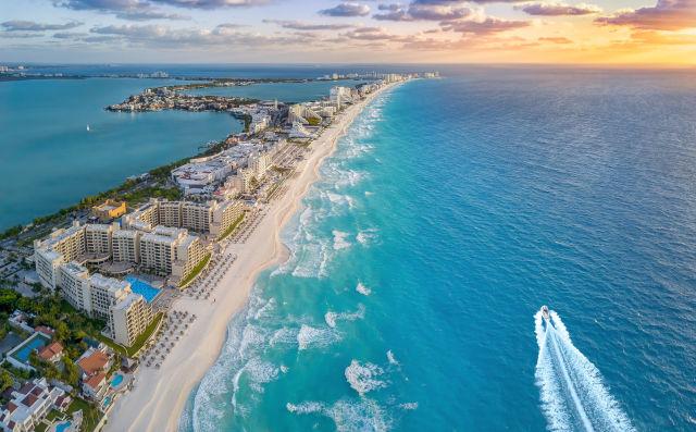 Cancun beach resort