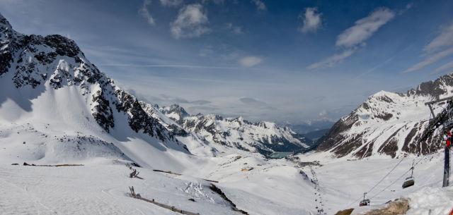 Lachtal, Österreich, Ski