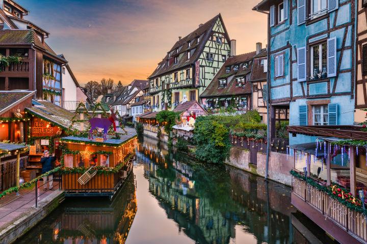 Colmar, christmas market, Alsace